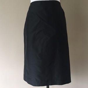 SILK Black Skirt Size 6 Melly M by Melissa Madden